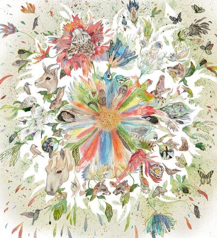 Laura Ball, 'Wild Botanical Mandala #3', 2020
