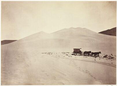 Timothy H. O'Sullivan, 'Sand Dunes, Carson Desert, Nevada', 1867