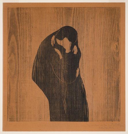Edvard Munch, 'The Kiss IV', 1902