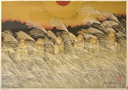 Junichiro Sekino, 'The Six Jizo at Yamashina, Kyoto', 1970