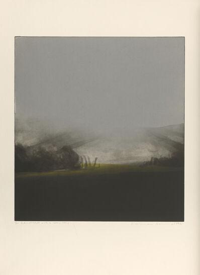 Norman Ackroyd, 'Landscape with Grey Sky', 1975