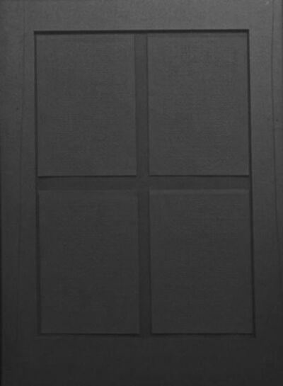 Prasannakumar Nagarajan, 'Felt with Fingertips II (Black)', 2007