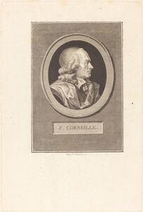 Augustin de Saint-Aubin, 'Pierre Corneille', 1799