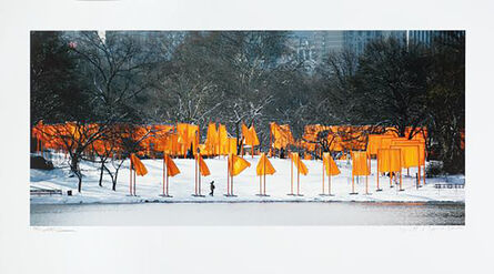 Christo, 'The Gates Rondell', Unknown