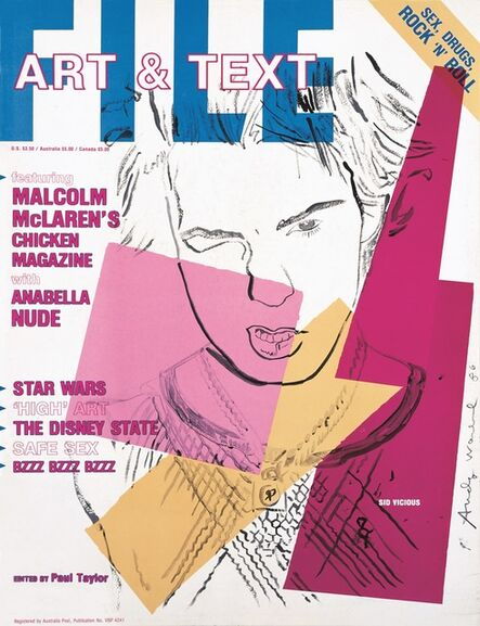 """General Idea, 'FILE Megazine no. 25, """"Sex, Drugs, Rock 'n' Roll and Art & Text Issue"""" ', 1986"""