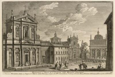 Giuseppe Vasi, 'Monastero e chiesa di S. Susanna delle monache cisterciensi', 1747-1801