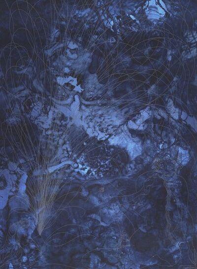 Chris Ofili, 'Black Shunga (detail)', 2008-2015