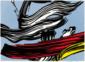 Roy Lichtenstein, 'Brushstrokes', 1967