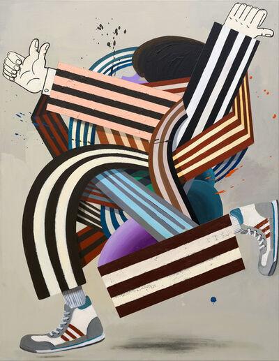 Henriette Grahnert, 'Abstrakt durch die Mitte', 2020