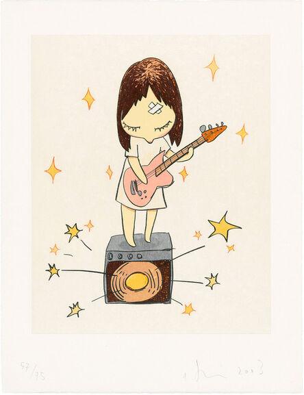 Yoshitomo Nara, 'Guitar Girl', 2003