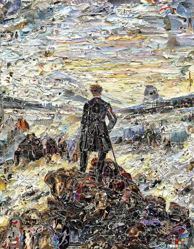 Vik Muniz, 'Wanderer Above the Sea of Media, after Caspar David Friedrich (Pictures of Magazines 2)', 2011