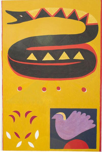 André Ricardo, 'Snake and bird', 2019