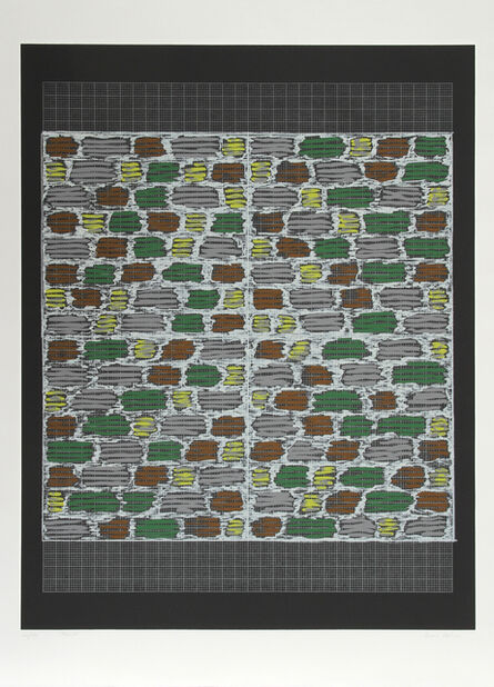 Anni Albers, 'Connections 1925 - 1983 - Study for Hooked Rug, 1964', 1984