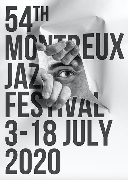 JR, 'Montreux Jazz Poster', 2020