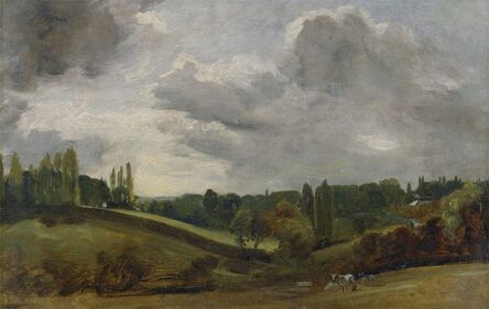 John Constable, 'East Bergholt', ca. 1813