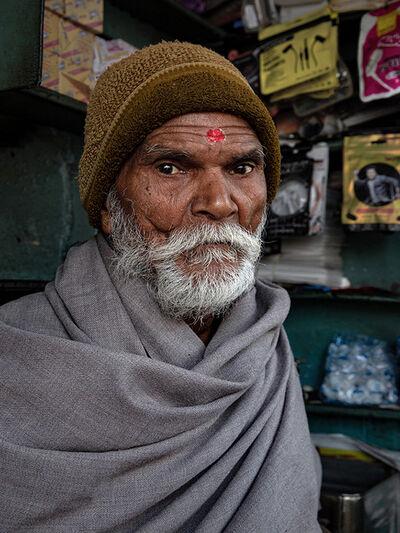 Neil O. Lawner, 'Portrait #6 India', 2020
