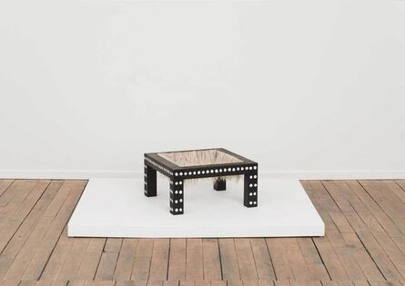 Tanya Aguiñiga, 'Soothe Table (Pacify)', 2015