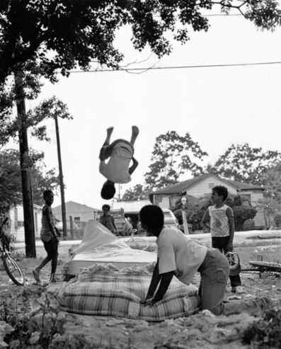 Earlie Hudnall, Jr., 'Bouncing Boys, 3rd Ward, Houston, Texas', 1981
