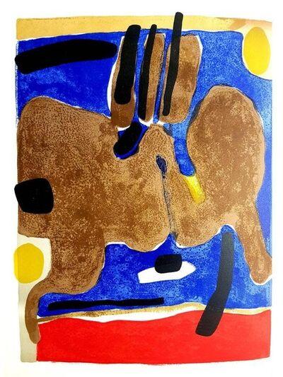 """Maurice Estève, 'Original Lithograph """"Composition"""" by Maurice Esteve', 1964"""