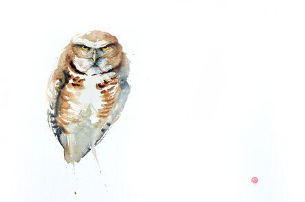 Karl Martens, 'Burrowing Owl', 2016