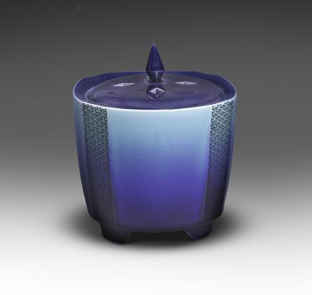 Tokuda Yasokichi III, 'Incense Burner with Komon Pattern', 2005