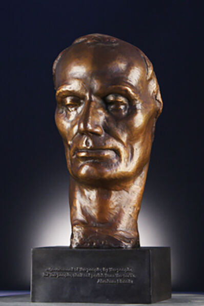 Robert Merrill Gage, 'Face of Lincoln', 1956