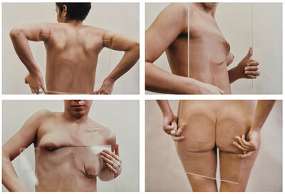 Ana Mendieta, 'Untitled (Glass on Body Imprints)', Photographed in 1972 and printed in 1997