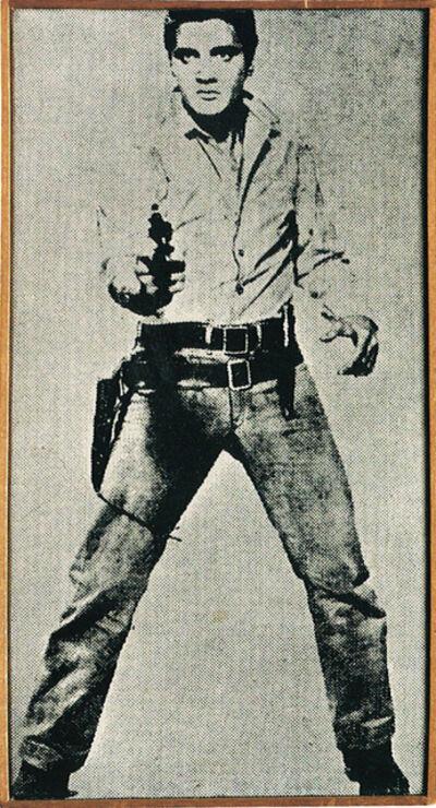 "Richard Pettibone, 'Andy Warhol, ""Elvis"", 1963', 1967"