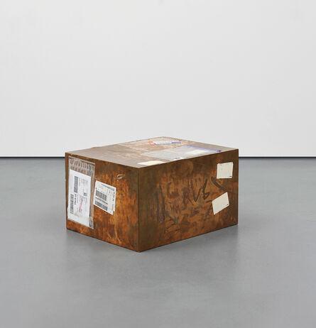 Walead Beshty, 'FedEx Large Kraft Box 2004 FEDEX 155143, #875468976062; Delray Beach FL-London (Tracking No. 7981 8859 0045)', 2011