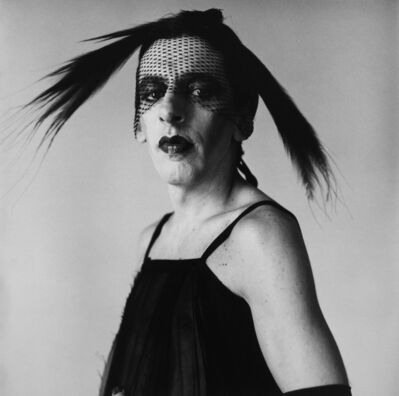 Peter Hujar, 'John Heys in Lana Turner's Gown (I)', 1979