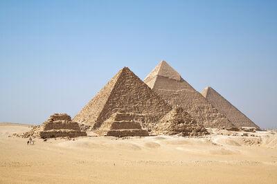 'Great Pyramids of Giza', ca. 2575-2450 B.C.