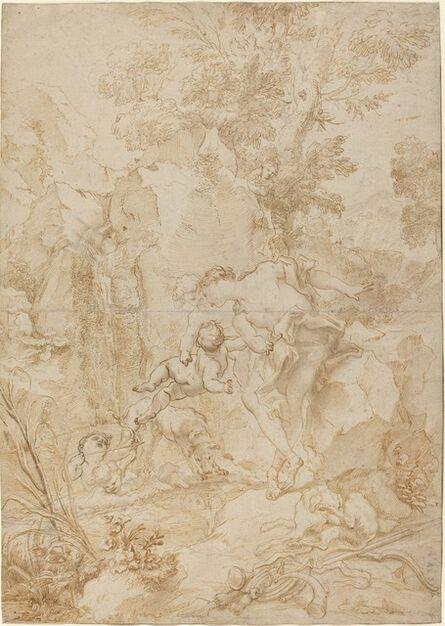 Gregorio de Ferrari, 'Echo and Narcissus'