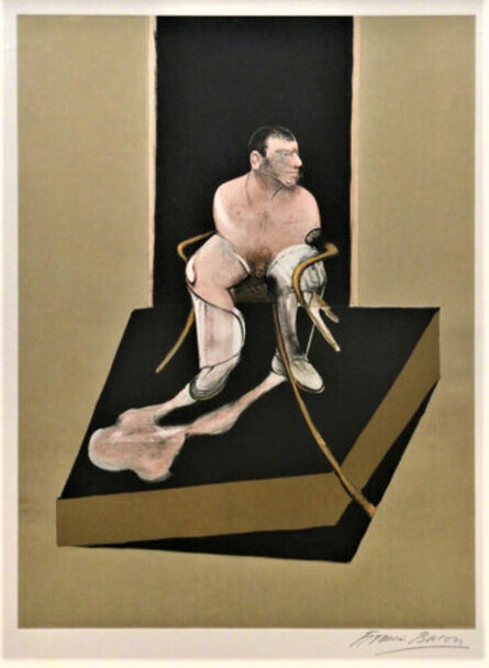 Francis Bacon, 'Study for Portrait of Jhon Edwards', 1987