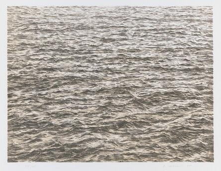 Vija Celmins, 'Untitled (Ocean), from the portfolio Untitled', 1975