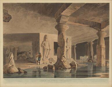 Thomas Daniell, 'Part of the Interior of the Elephanta', 1800
