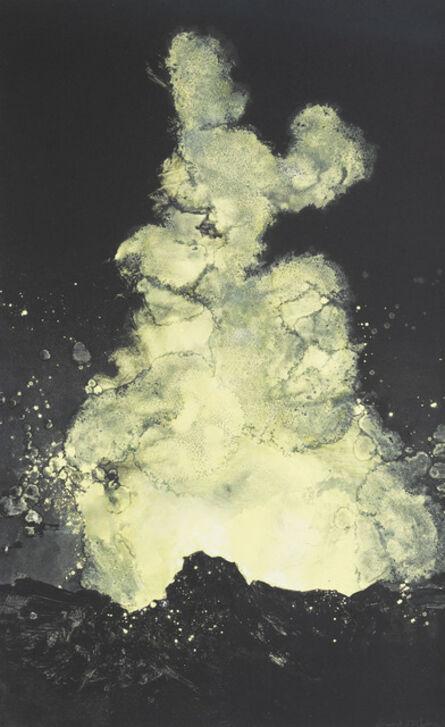 Emma Stibbon, 'Stromboli Plume (yellow)', 2019