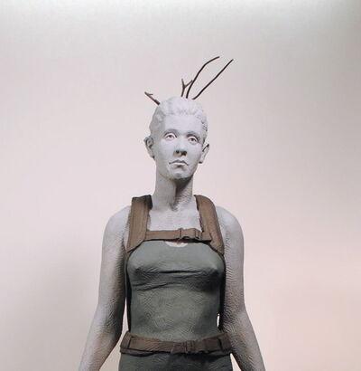 Nicholas Crombach, 'Twig Girl', 2013