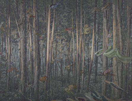 Ko-Wei Huang, 'through gray asparagus', 2014