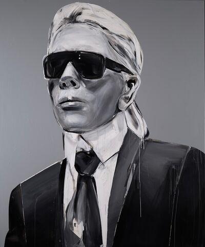 Edyta Grzyb, 'KARL LAGERFELD', 2020