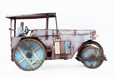 Martin Roemers, 'Mayur static road roller, Driver Bairam Shejwal (Maleagon, Maharashtra)', 2019