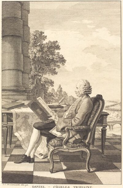after Carmontelle, 'Daniel-Charles Trudaine', ca. 1761