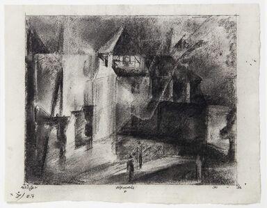Lyonel Feininger, 'Vollersroda', 1922