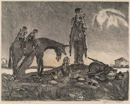 Raymond Steth, 'Heaven on a Mule', ca. 1940