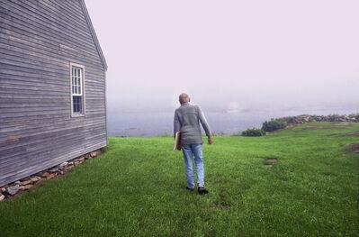 Harry Benson, 'Andrew Wyeth, Benner Island, Maine', 1996