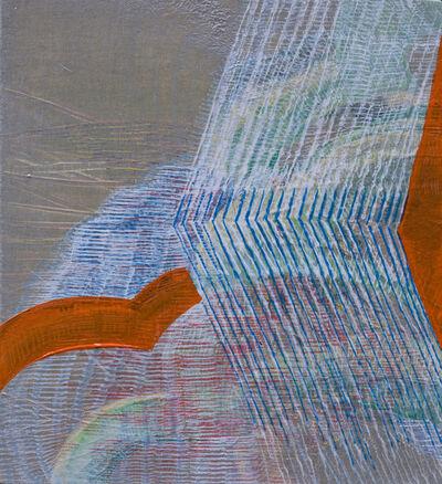 Alyse Rosner, 'Iteration with Orange Traingle', 2017