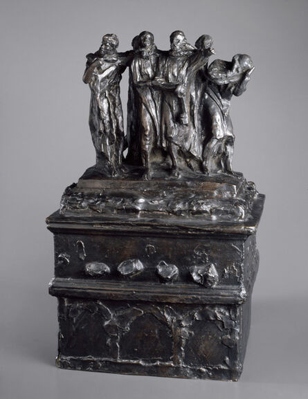 Auguste Rodin, 'Monument to the Burghers of Calais, First Maquette', 1884