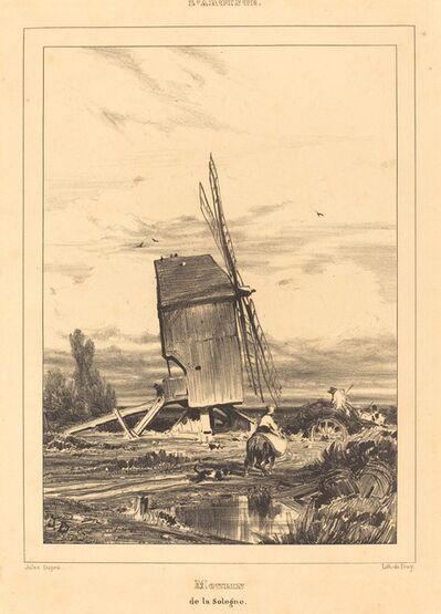Jules Dupré, 'Mill of the Sologne (Moulin de la Sologne)', 1835