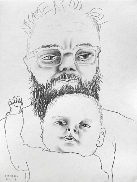 Eduardo Sarmiento, 'Luciano & His father I', 2015
