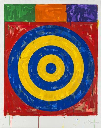 Jasper Johns, 'Target', 1974