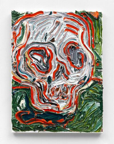 Alex Becerra, 'Skull and Grass', 2021